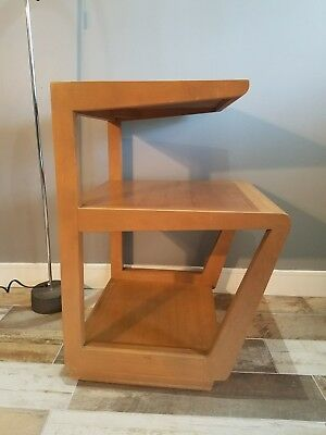 Rare 1940's Vintage Edward Wormley end table for Drexel mid-century Modern