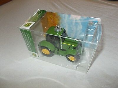 Kurt S. Adler John Deere licensed hand crafted glass holiday tractor ornament