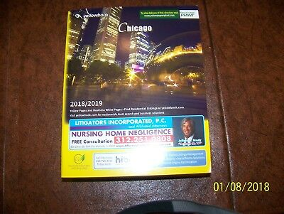 Chicago USA Phone Book Yellow Pages & Business White Pages  2018-2019