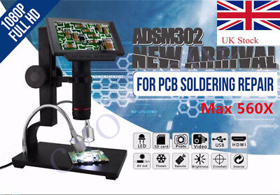 Andonstar 1080P HDMI USB Digital Microscope for PCB soldering repair AI Remote