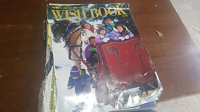 1991 Sears Wish Book Christmas Catalog Toys Dolls Sega Atari Barbie Vintage