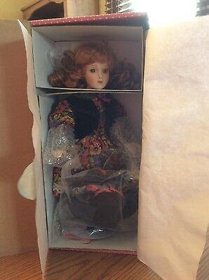 Oh, Susannah! Musical collector doll from Paradise Galleries