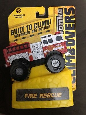 Tonka Climb Over Vehicle Fire Truck, Brand New in Box FREE SHIPPING