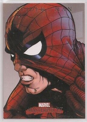 2008 Marvel Masterpieces Series 3 Spider-Man Promo card P-11