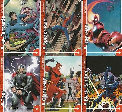 2013 Marvel Fleer Retro Sticker cards by Upper Deck 12-card Lot  NM/M condition