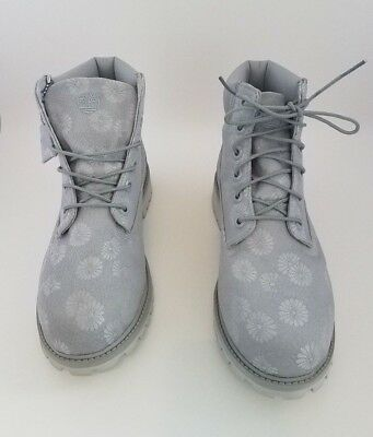 TIMBERLAND 6 INCH Classic Big Kids Boots Grey Floral