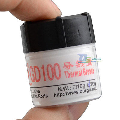 150g White Compound Thermal Conductive Grease Paste For CPU PC Heat Sink Bottle