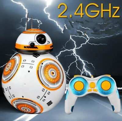 Star Wars RC BB-8 Robot 2.4G Remote Controlled Toy Action Nice Intelligent Ball