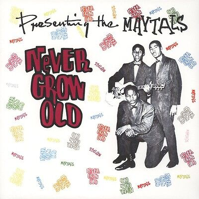 The Maytals ‎– Never Grow Old LP (SKA/SKINHEAD REGGAE)