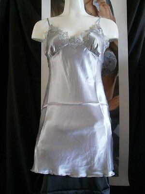 Babydoll dress sexy classique Satin Grey reference Soft brand Lingadore
