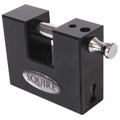 WS75S Stronghold Container Block Lock 80mm by Henry Squire - WS75S