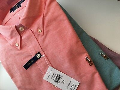 Polo Ralph Lauren Slim Fit Stretched Oxford Button-Down Shirt Prp £95