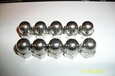 M8-1.25 or M8 X 1.25 CAP NUT ACORN STAINLESS STEEL A2 18-8
