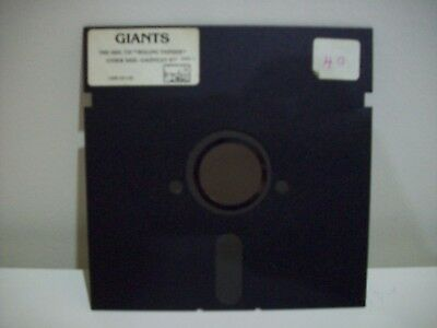 Giants - Rolling Thunder - Gauntlet Ii -  Commodore 64 Game Floppy Disc Vintage