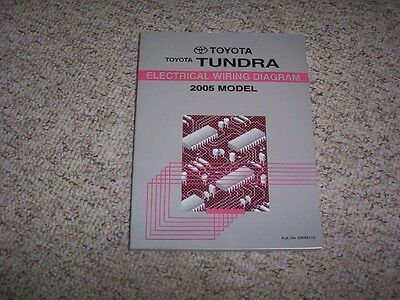 2005 toyota tundra truck electrical wiring diagram manual sr5 ltd limited  4wd
