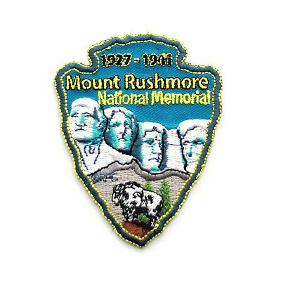 Mount Rushmore National Memorial Souvenir Patch South Dakota Park Monument Mt.