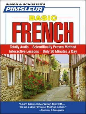 Pimsleur French Basic Course - Level 1 Lessons 1-10 CD Learn to... 9780743550673