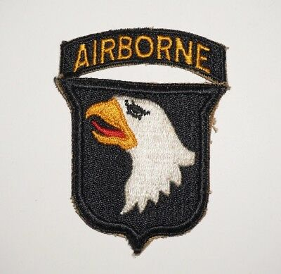 101st Airborne Division Patch WWII US Army P6053