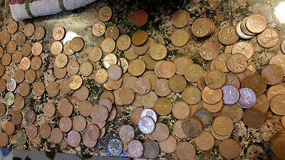 $2.63 Face Value Canadian Pennies 98.0% Copper Bullion King George
