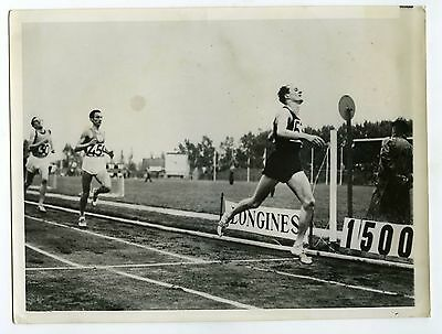 PHOTO United Press des sprinters en action course à pied Sport  1956 JO