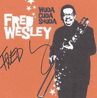 Autografo Fred Wesley