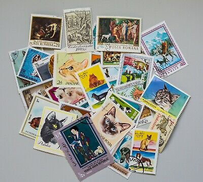 Worldwide stamps on paper.  Let me tell you how I got these.