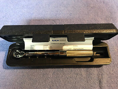 CDI Torque 1501MRMH 1/4 Dr Click Torque Wrench 30 to 150 In Lbs
