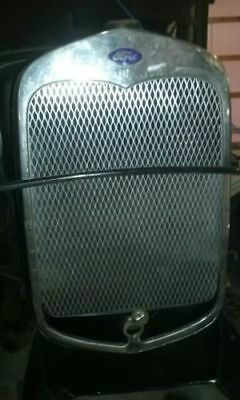 1930 1931 Ford Model A Radiator Stone Guard Grille Grill Insert vertical diamond