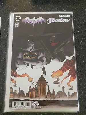 Batman The Shadow #6 Sale Variant Dc Comics Near Mint 9/27/17