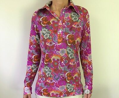 Genuine Vintage Top, Blouse, Retro, 60's, 70's, Disco, Hippy, clothes,