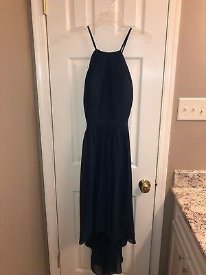 be6a086e5e BRIDESMAID DRESS BILL Levkoff navy blue size 10 RN 82955 -  60.00 ...