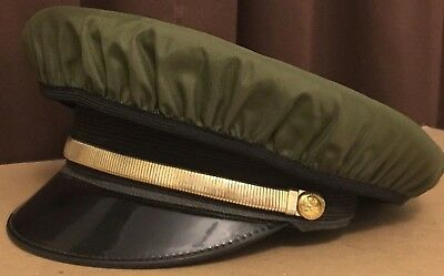 Vintage Butlers Uniform Hat with dust cover.  Costume Collector's Lancaster