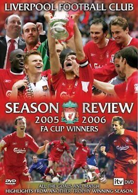 Liverpool FA Cup Winners Season Review 2005/2006 (DVD, 2006) FREE SHIPPING