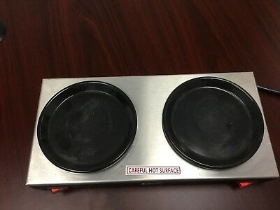 Curtis AW-2 Coffee Pot Double Warmer