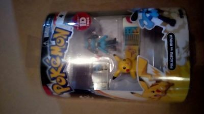 Pokemon Series 2 Pikachu vs Riolu Action Figure 2-Pack. Delivery is Free