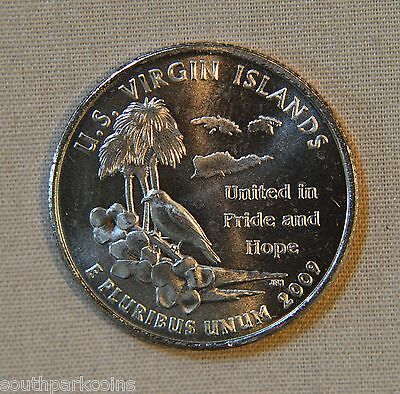 2009-D Uncirculated U.S. Virgin Islands Territory Quarter - Single