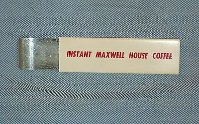 1960s Pacific Handy Cutter Instant Maxwell House Coffee