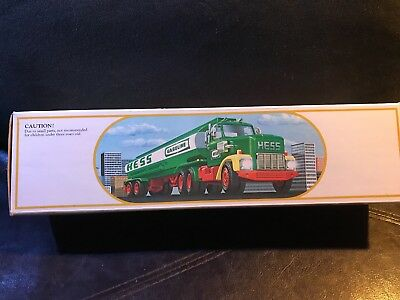 Vintage 1984 Hess Toy Truck Bank |Mint Condition| New in Box