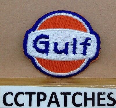 Vintage Gulf Small (Gas Station) Patch
