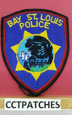 Bay St. Louis, Mississippi Police Shoulder Patch Ms