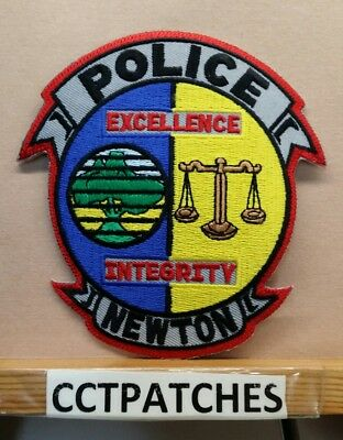 Newton, Iowa Police Shoulder Patch Ia