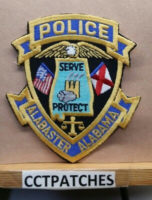 Alabaster, Alabama Police Shoulder Patch Al