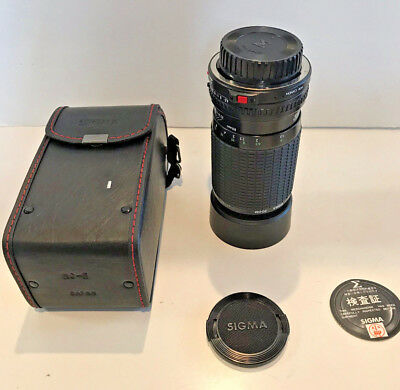 SIGMA Zoom Lens f4.5-5.6 80-200 mm for Canon mount made in Japan [Near Mint]