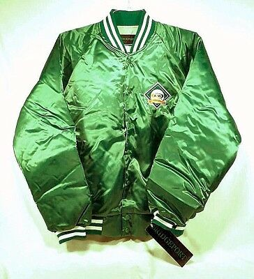 Vintage A&W Root Beer Quilt-Lined Baseball Style Jacket - Adult Lg 42-44 - NWT
