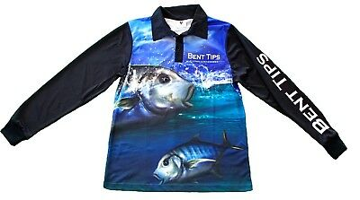 Golden Trevally Long Sleeve Fishing Jersey/Shirt
