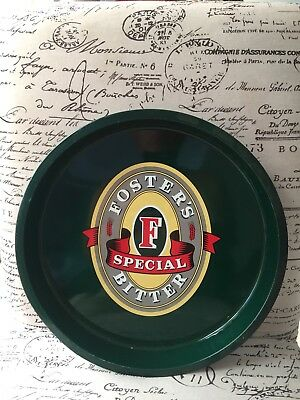 Fosters Special Bitter Round Metal Drink Serving Tray