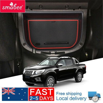 For Nissan Navara NP300 D23 2015-2018 Car central armrest box  Auto Styling RED