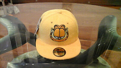 NEW ERA X The Hundreds x Garfield Snapback Black Flag Orange Cat ... d028f8ef2d9c