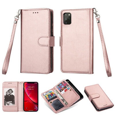 iPhone 11 Pro Max XS 6 7 8 Plus Luxury Wallet Case Leather Removable Cover