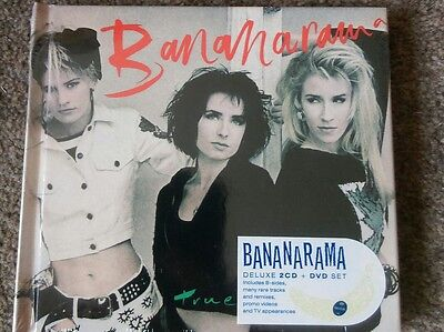Bananarama - True Confessions 2 CD + DVD Deluxe Edition Brand New and Sealed